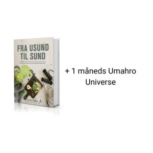 Umahros bog Fra sund til usund og 1 måneds medlemskab til umahro universe